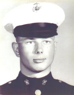 Marine portrait of Michael John Kelly
